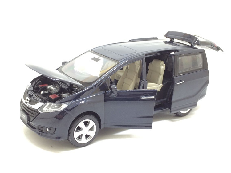 Toys & Hobbies 1:32 Scale Diecast Alloy Metal Luxury Mpv Car Model For Honda Odyssey Collection Vehicle Model Pull Back Sound&light Toys Car Delaying Senility