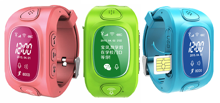 Y3 Smart Kids GPS Watch with GPS GSM Wifi Triple Positioning GPRS Real time Monitoring two