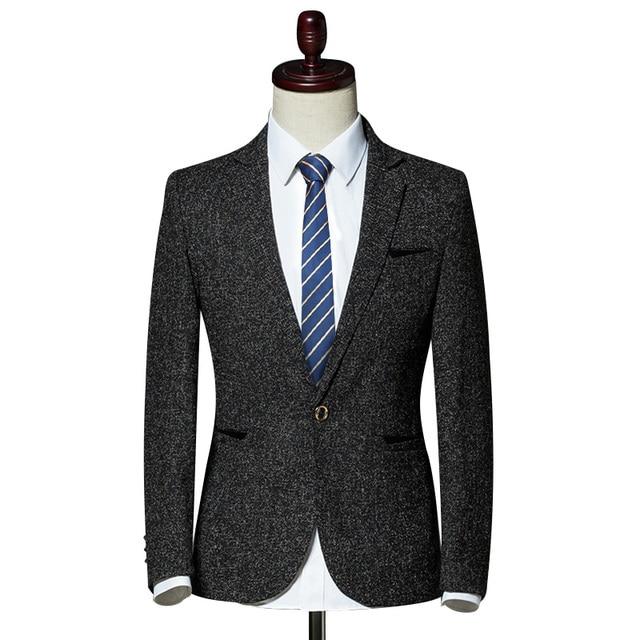 Men's Wedding Dress Suit Jackets Formal Wear Blazers New Men Single Button Suit Jackets Casual Blazers Size 5XL