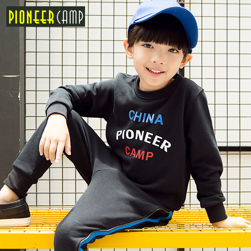 PioneerCamp new kids hoodies for boys spring autumn sweatshirts fashion causal high quality sweater boys chidren coat BWY709266