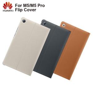 Image 1 - Huawei 社オリジナルスマートタブレットケースのための huawei 社 M5 プロ M5 8.4 10.8 インチの住宅スリープ機能インテリジェントタブレットケース