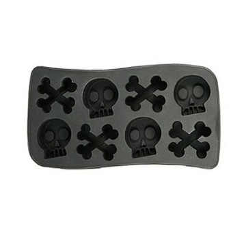 Halloween Skulls Ice Cube Tray Ice Mold Ice Maker
