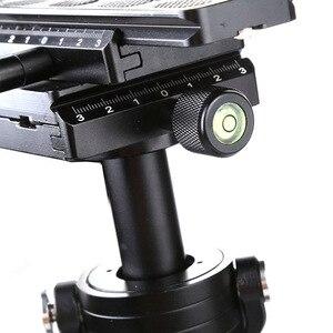 Image 3 - S40 + 0.4M 40CM אלומיניום סגסוגת כף יד עוזר צלם מייצב Steadicam עבור Canon ניקון AEE DSLR וידאו מצלמה