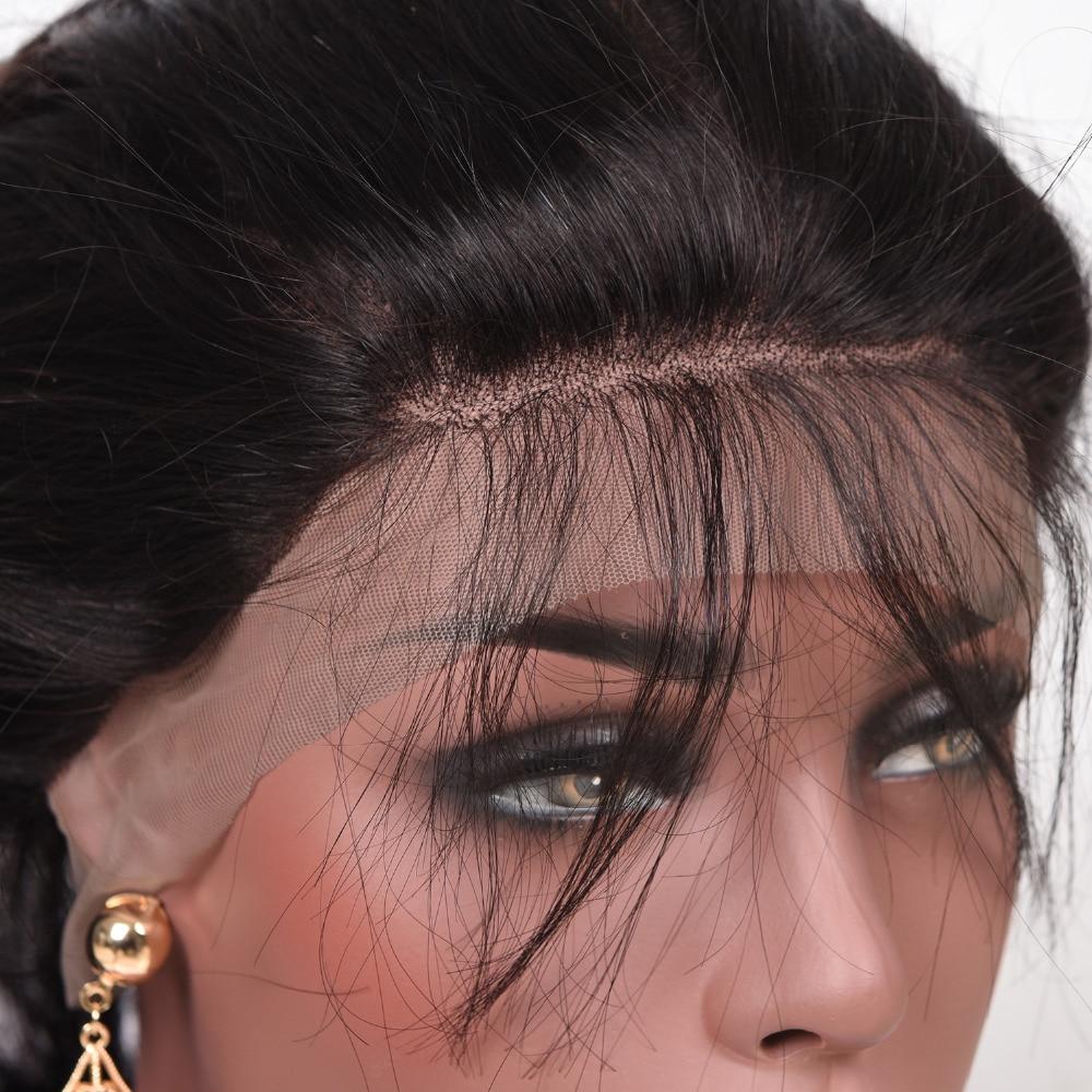 Бразильська об'ємна хвиля попередньо - Людське волосся (чорне) - фото 4