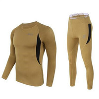 Men S Winter Outdoor Polartec Warm Underwear Set Military Army Cycle For Quick Dry Heat Johns