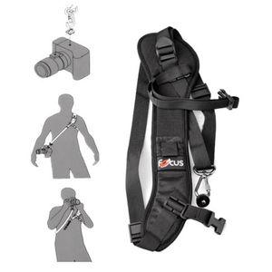 Image 2 - High Quality Focus F 1 Quick Carry Speed Sling soft Shoulder Sling Belt Neck Strap For Camera DSLR Black