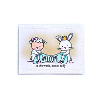 YaMinSanNiO Bunny Dies Scrapbooking Metal Cutting New 2019 Sheep Stamps and Chicken Clear Stamp Crafts Cuts
