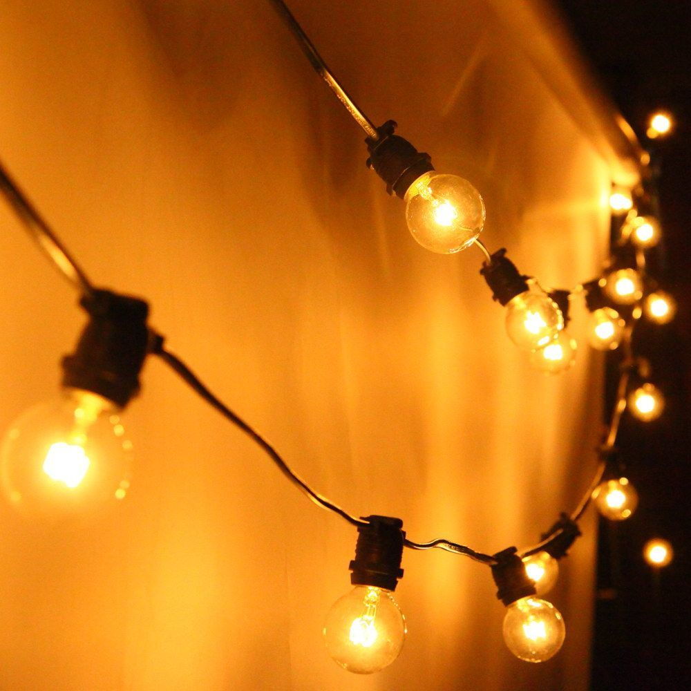 AU SAA Listed 20M G40 Globe Festoon Waterproof Indoor Outdoor Garden,Party,Wedding Holiday Decoration String Light