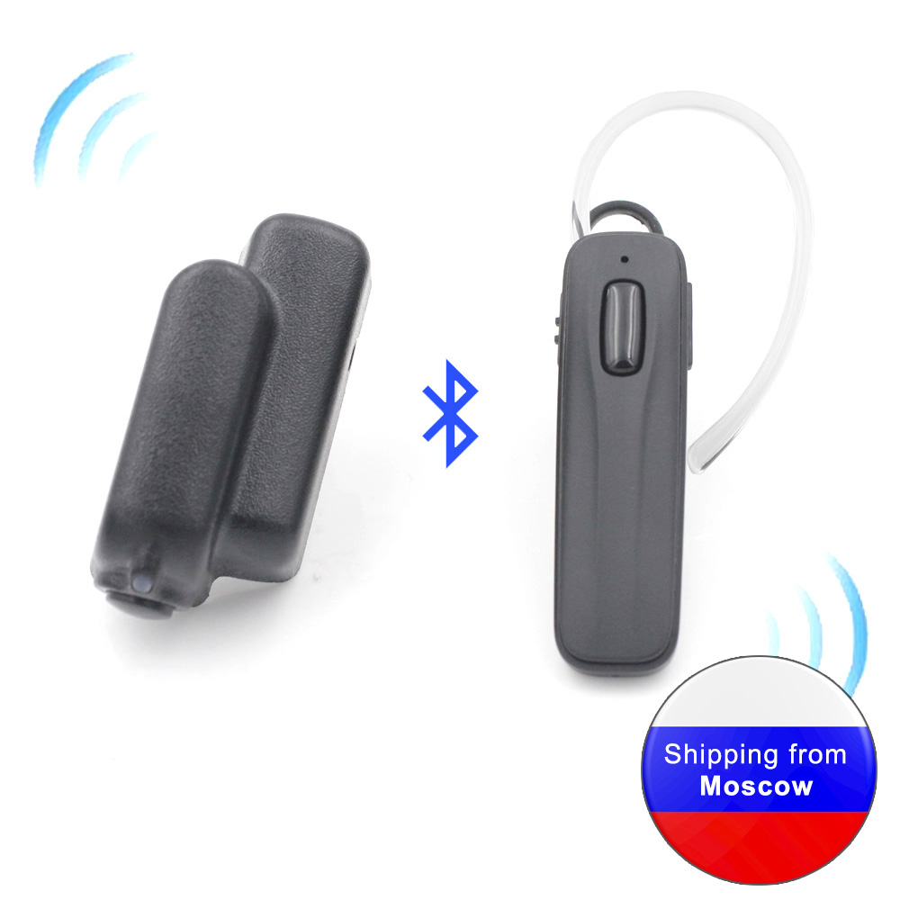 ANYSECU Bluetooth Headset AC-B09 Earpieces For All K1 Plug Walkie Talkie UV-5R UV-82 MD-380 MD-UV390 TH-UV8000D Two Way Radio