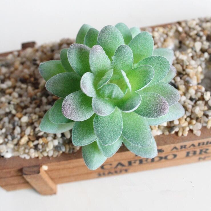 New Artificial Mini Succulent Plants Landscape Lotus Grass Decorative fake plastic Plant Home table Garden DIY Decoration cactus