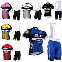 2016 Tour De France Pro Team QUICK STEP Cycling Jerseys Sets MTB Bicycle Clothing Bike Wear