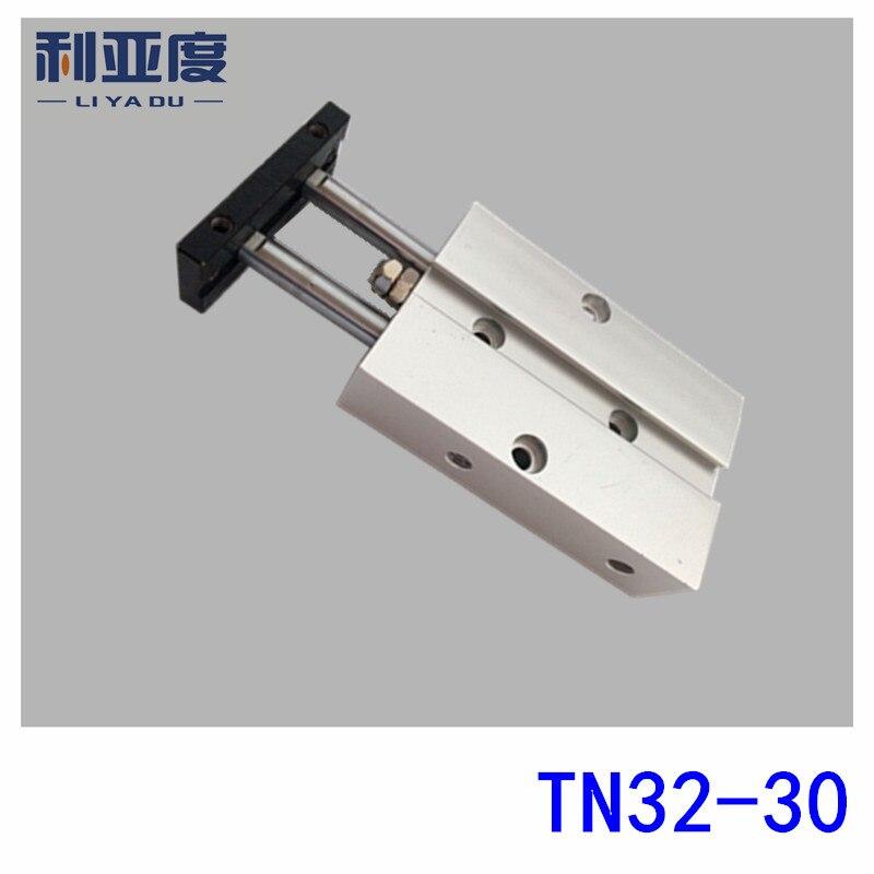 все цены на TDA32-30 biaxial cylinder TDA32*30 double rod cylinder TN32-30 pneumatic components TN32x30 cylinder онлайн