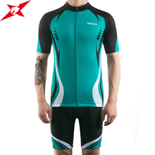 GEODASH 2019 Summer Cycling Clothing Man Good Quality Jersey Quick Dry Bike Set GEL Pad Bicycle