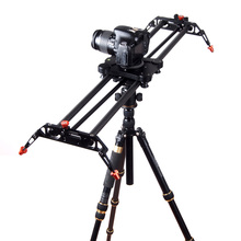 Travel Portable carbon fiber camera slider 120 Degree Rotated angle adjust 80cm DSLR video slider dolly track rail stabilizer