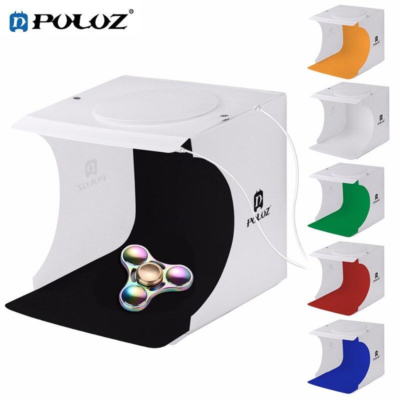 PULUZ 82LED Panels Folding Portable Photo Video Box Lighting Studio Shooting Tent Box Kit Softbox lightbox for photography