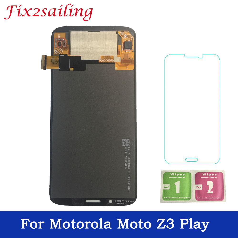For Motorola Moto Z3 Play LCD Display Touch Screen Digitizer Assembly Replacement For Moto Z3 Play XT1929 XT-1929 LCDFor Motorola Moto Z3 Play LCD Display Touch Screen Digitizer Assembly Replacement For Moto Z3 Play XT1929 XT-1929 LCD