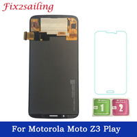 For Motorola Moto Z3 Play LCD Display Touch Screen Digitizer Assembly Replacement For Moto Z3 Play XT1929 XT 1929 LCD
