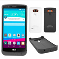 Black Battery Power Case 3800mAh Rechargeable Backup External Battery Case Charger Power Bank Power Case Cover for LG G4