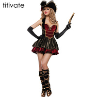 Pirate Costumes Halloween Party Role Play Uniform Bar Costume Dance Costumes Cosplay For Women