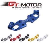 Gt motor Motorcycle Lowering Triple Tree Front End Upper Top Clamp For SUZUKI GSXR1300 2008 2015