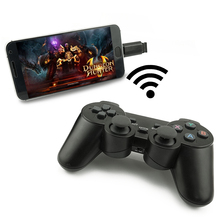 Wireless gamepad mobile phone game controller PC joystick with PC/X360 mode for Windows win7/win8/win10/Android/STEAM games