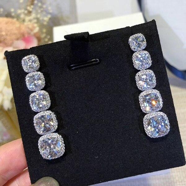 Silver, Designer, Earring, Zirconia, Cubic, Fashion