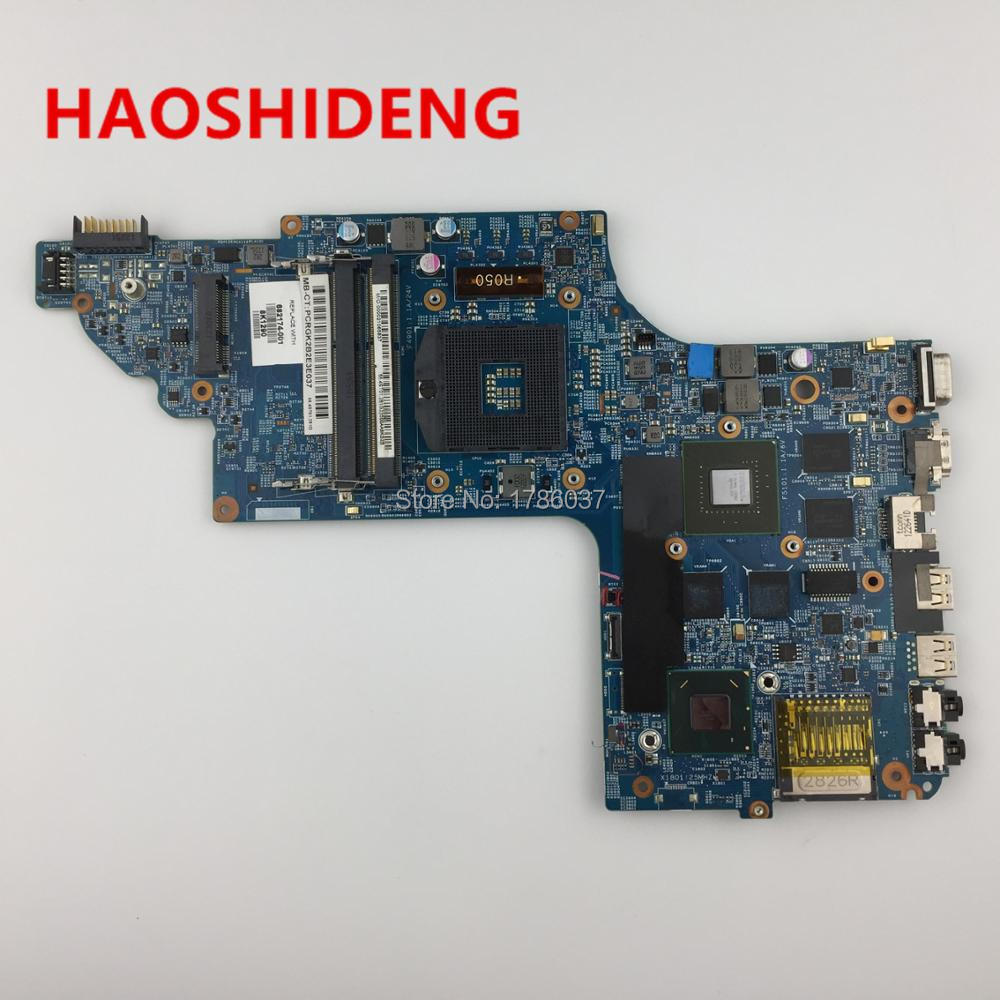 682174-501 682174-001 for HP Pavilion DV6  DV6T DV6-7000 series motherboard with GT650M/2G.All functions fully Tested ! 509450 001 motherboard for hp pavilion dv6 daut1amb6d0 tested good