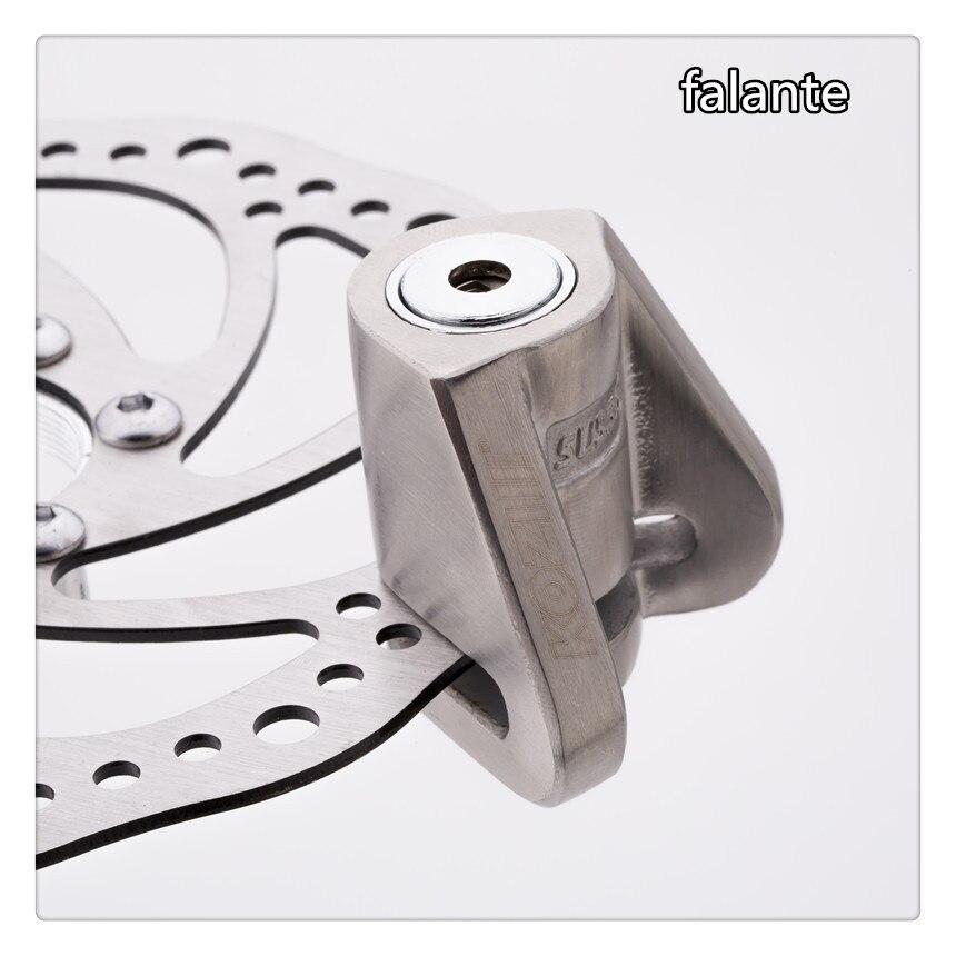 Moto Bike Motor Motorcycle Brake Disc Lock Stainless Steel Security Anti - Lock 5.5mm Locking Pin
