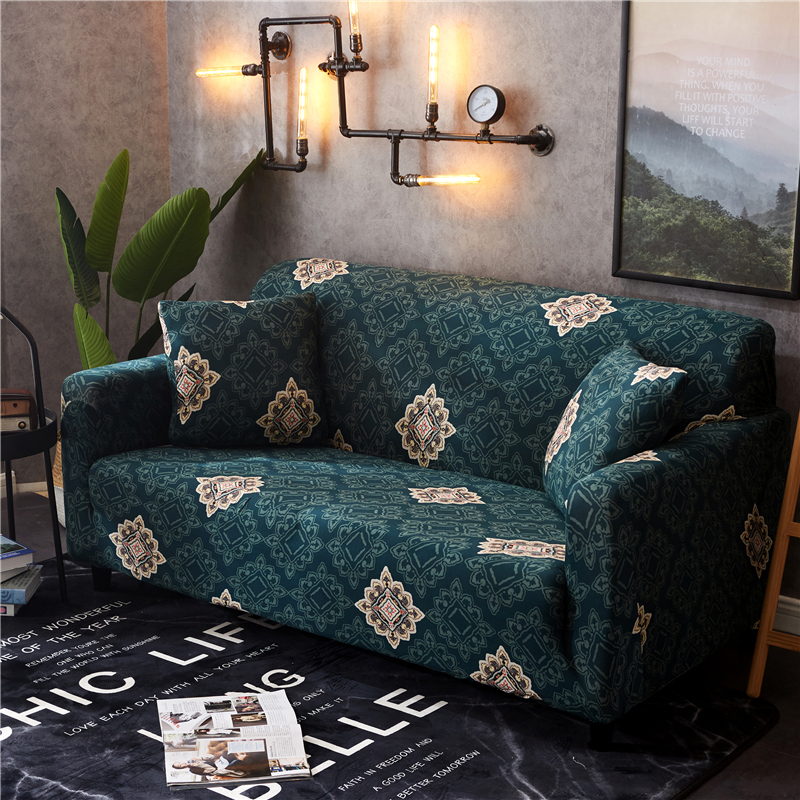 Elasticity Slipcover Sofa Cover Couch Cover All-inclusive Wrap Single/double/three/four-Seat Non-slip Sofa Towel 1pc image