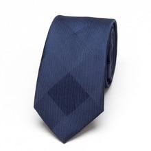 Men Blue Neckties xgvokh brand fashion Wedding leisure business polyester Skinny Mens Ties 6cm width Slim Neck Tie