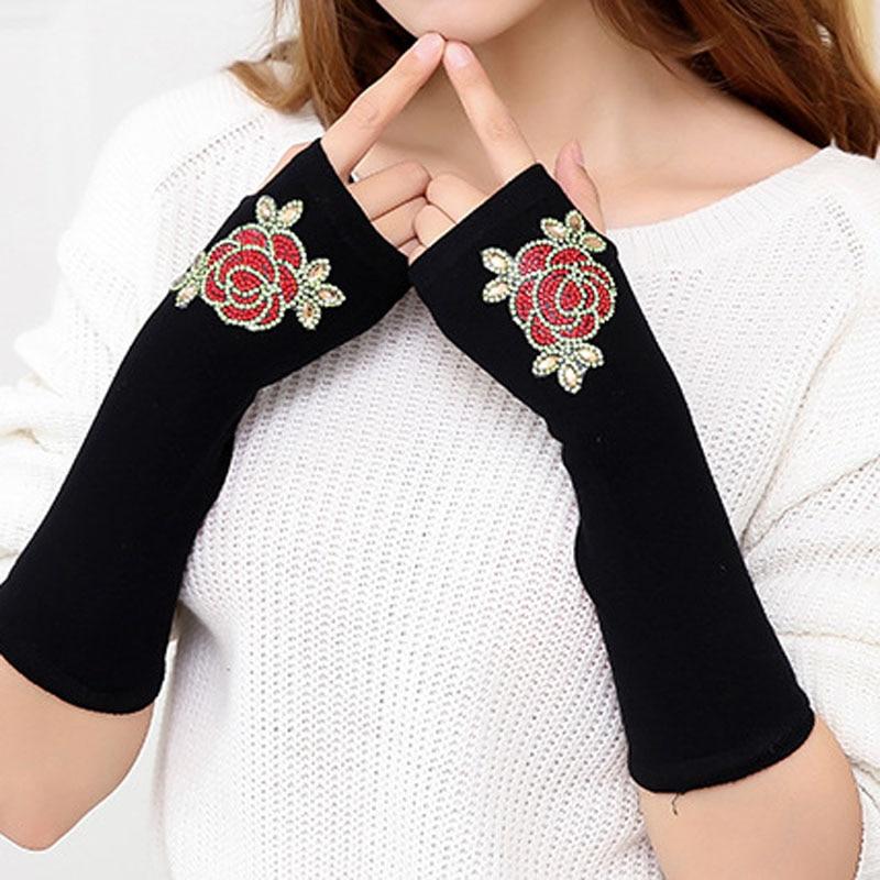 Realistisch Herbst Und Winter Plus Lange Dame Zeigen Finger Warm Arm Wärmer Fy18100711 Rheuma Lindern Armstulpen
