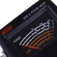 vhf uhf Power Meter SWR NISSEI RS40 עבור HAM Mobile Radio SWR למדידה 144 / 430mHz 200W RS40 VHF UHF Power Meter עבור מכשיר הקשר (2)