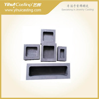 YIHUI 5/LOT capacity 2000G graphite crucible bottle ingot mold for melting gold and silver machine Jewelry Tools Equipments