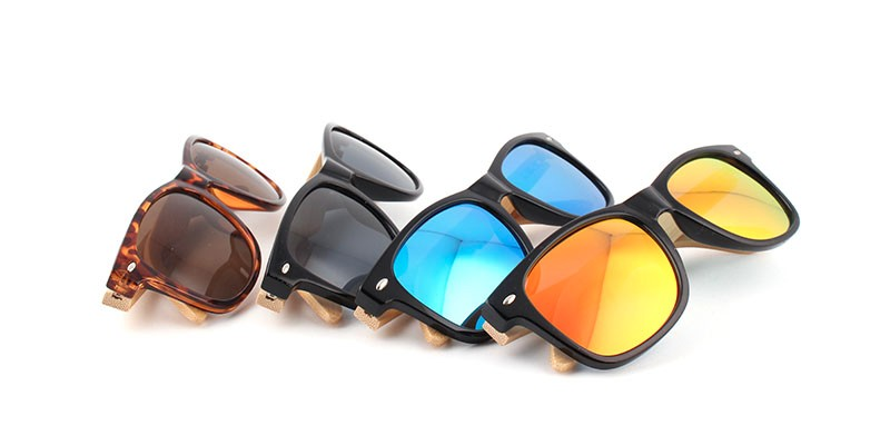 2016 New Bamboo Polarized Sunglasses Men Wooden Sun glasses Women Brand Designer Original Wood Glasses Oculos de sol masculino 5