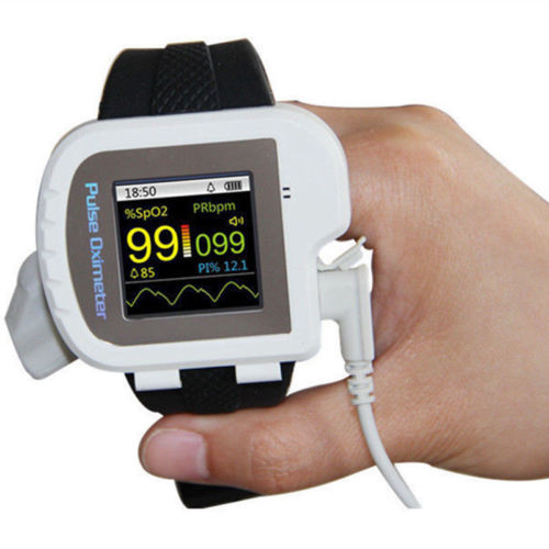 Watch style pulse oximeter With display  PR PI SpO2 value pulse oxygen saturation with oximeter probe CMS50I elera portable finger pulse oximeter spo2 pr odi4 pi fingertip oximetro de pulso de dedo blood oxygen saturometro
