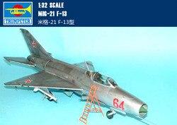 Montage model Trompet hand model 1/32 MIG-21 F-13 vliegtuigen Speelgoed