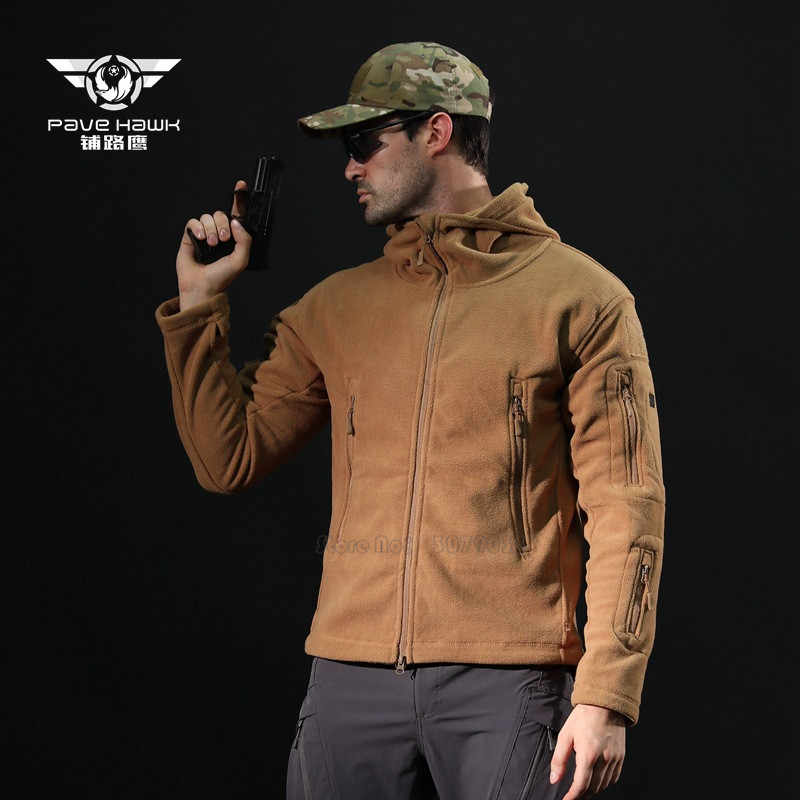 軍人フリース戦術ソフトシェル付きコート上着服エアガン制服服