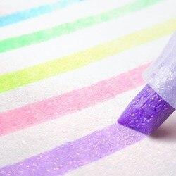 5 pçs/set Japão Zebra bonito pérola cor Fluorescente cor da caneta Marcador marcadores Caneta bala caneta material escolar diário WKS18
