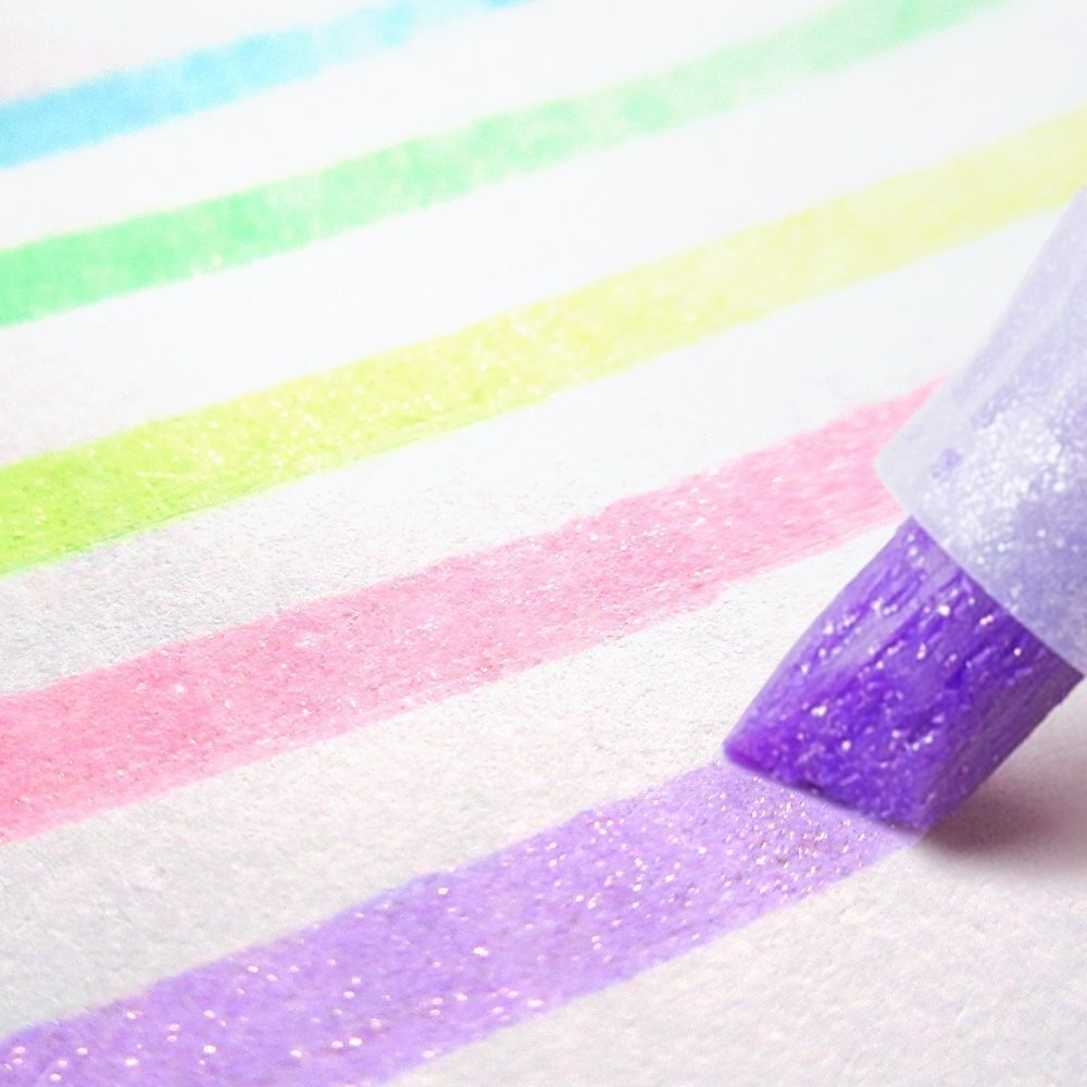 5pcs/set Japan Zebra Cute Pearl Color Fluorescent Pen Color Highlighter Pen Markers Pen Bullet Journal School Supplies  WKS18