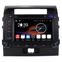 7 Octa Core Android 6 Car Multimedia GPS Navigation Radio DVD For Toyota Land Cruiser Prado