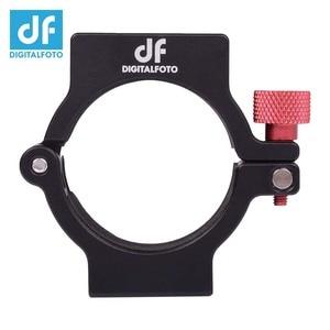 Image 5 - Anel de extensão adaptador digital df, clipe de anel de formiga com sapato frio para zhiyun, suave, 4 cardan, microfone de montagem/luz led/monitor