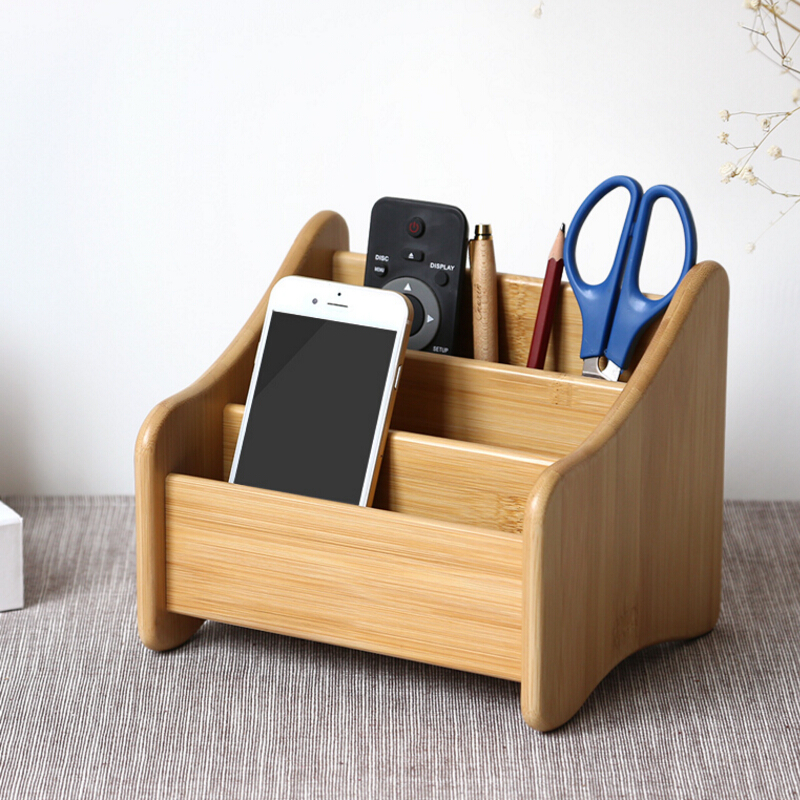 Cute Fashion Bamboo/Wooden Pen Holder Pencil Container Office School Supplies Korea Stationery Free shipping mini s size pencil bag pencil case pen stationery storage art school office home supplies transparent pens holder fashion gifts