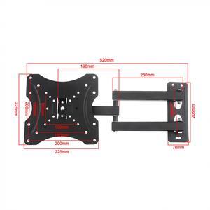 Image 3 - 35KG regulowane uchwyt ścienny na TV telewizor z płaskim ekranem rama 15 stopni nachylenia z poziomu do 14   42 Cal Monitor LCD LED płaskie patelni