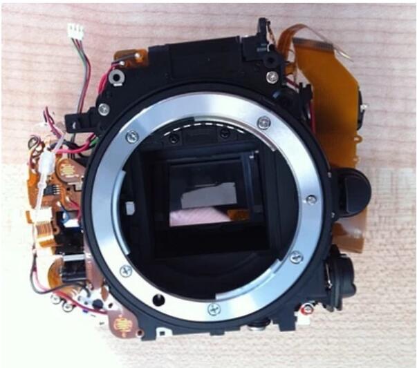 90%New Mirror Box Assembly Unit Repair Part For Nikon D7100 Camera with shutter motor aperture original for nikon d800e d800 aperture motor control camera replacement unit repair parts