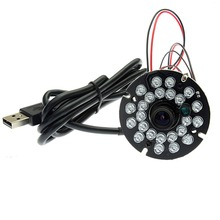 5MP mini cmos OV5640 MJPEG YUY2 infrared ir usb camera module pcb with IR leds board