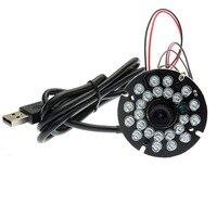 5MP Mini Cmos OV5640 MJPEG YUY2 Ir Infrared Usb Camera Module With IR Leds Without Ir