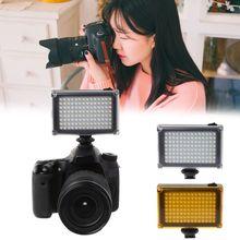 בהיר לירות FT 112LED וידאו אור עבור מצלמה DV למצלמות Canon Nikon Minolta