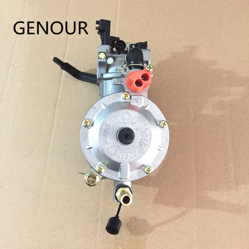 NEW design JIWANNIAN LPG&CNG CARBURETOR THREE WAY CONVERSION KIT FOR 2-2.5KW GENERATOR PETROL & LIQUEFIELD,Dual Fuel Carburetor new design jiwannian lpg&cng carburetor three way conversion kit for gx160 gx200 engine petrol & liquefield dual fuel carburetor page 4