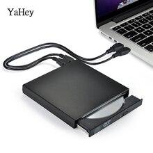 YAHEY 2019 внешний комбинированный оптический привод DVD/CD плеер Компьютер ПК Burner горелка записывающее устройство Portatil для ноутбук с системой Windows 7/8