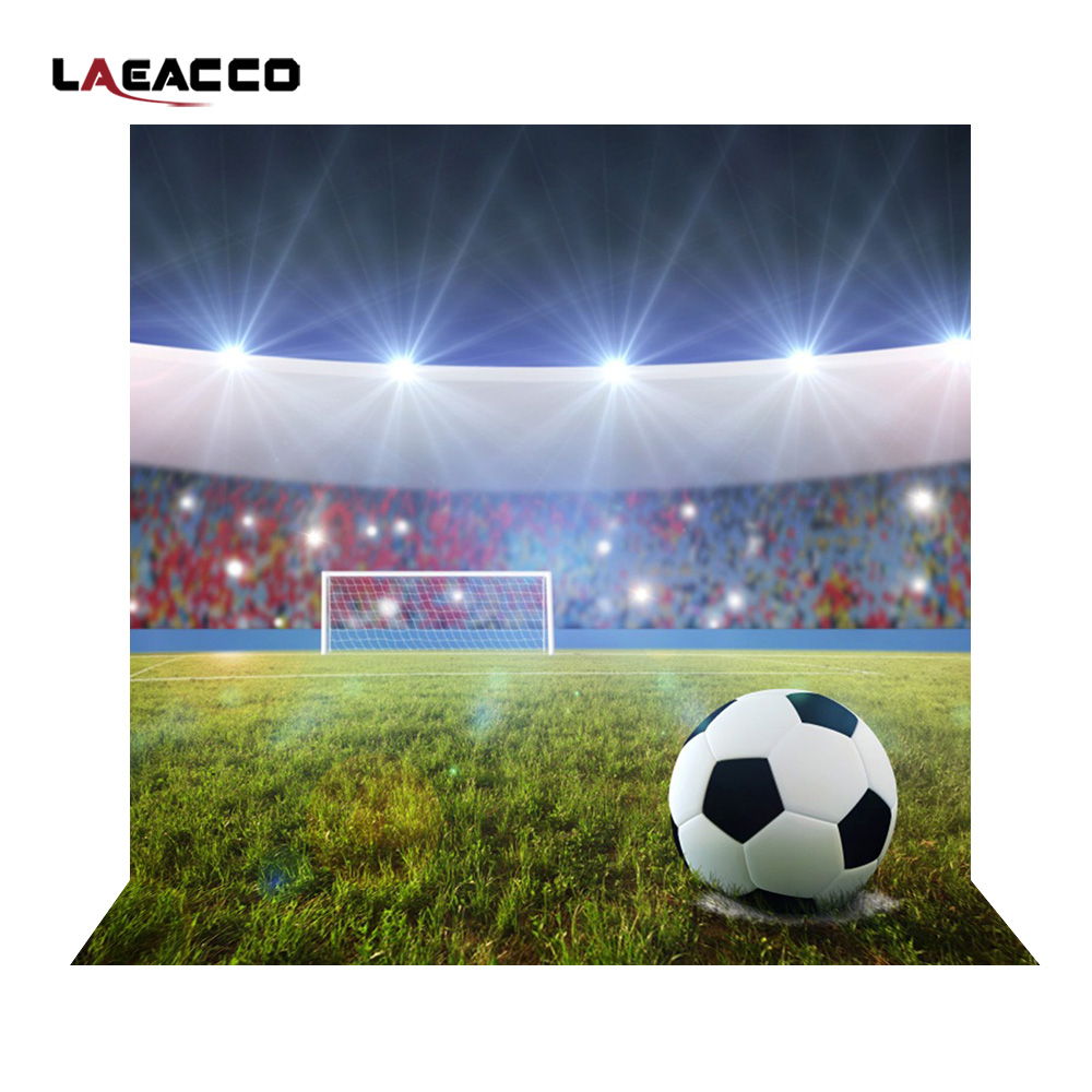 Laeacco Shining UK Soccer Field Stadium Scene Photography Backgrounds Vinyl Camera Photographic Backdrops For Photo Studio Props suck uk